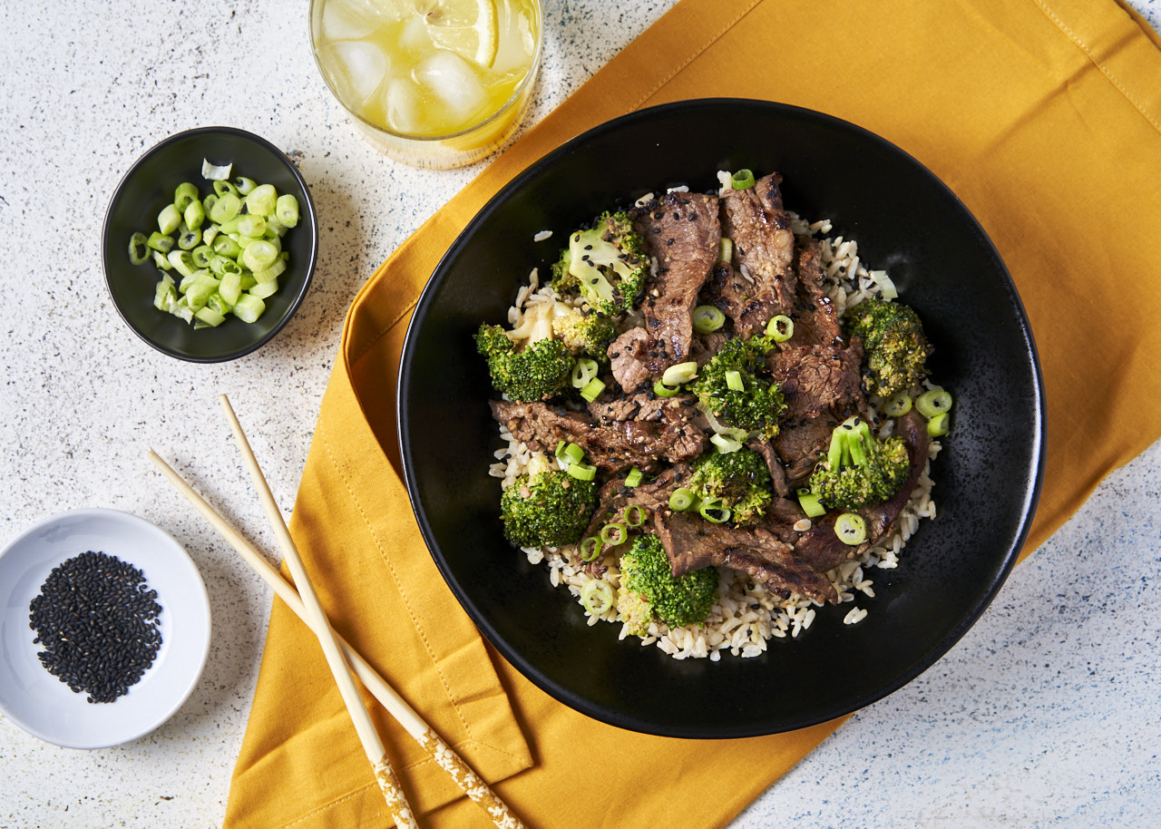 Beef & Broccoli with Brown Rice