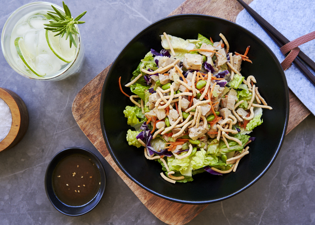 Asian Chicken Salad with our specialty dressing