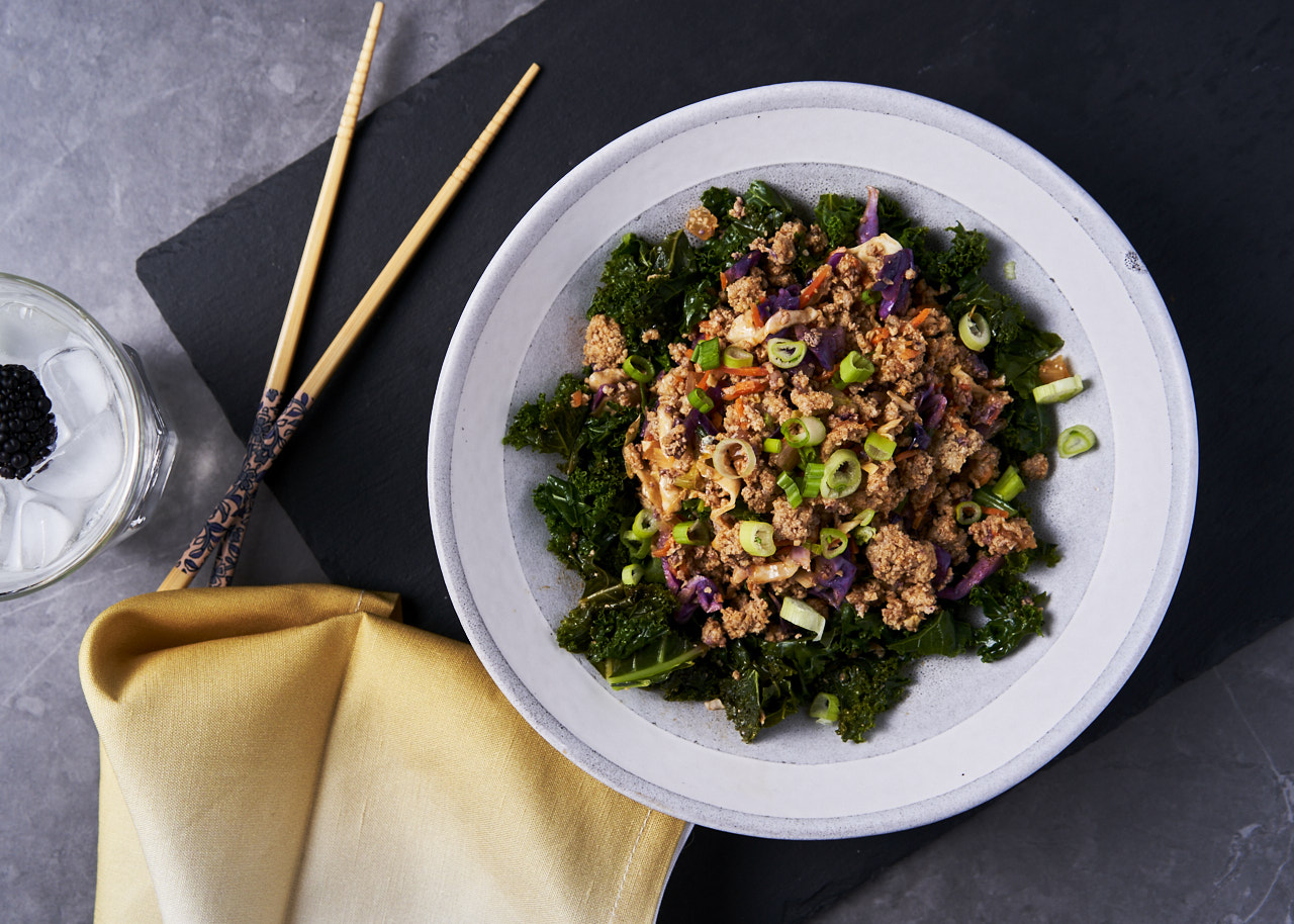 Turkey Sautéed <br>Garlic Kale
